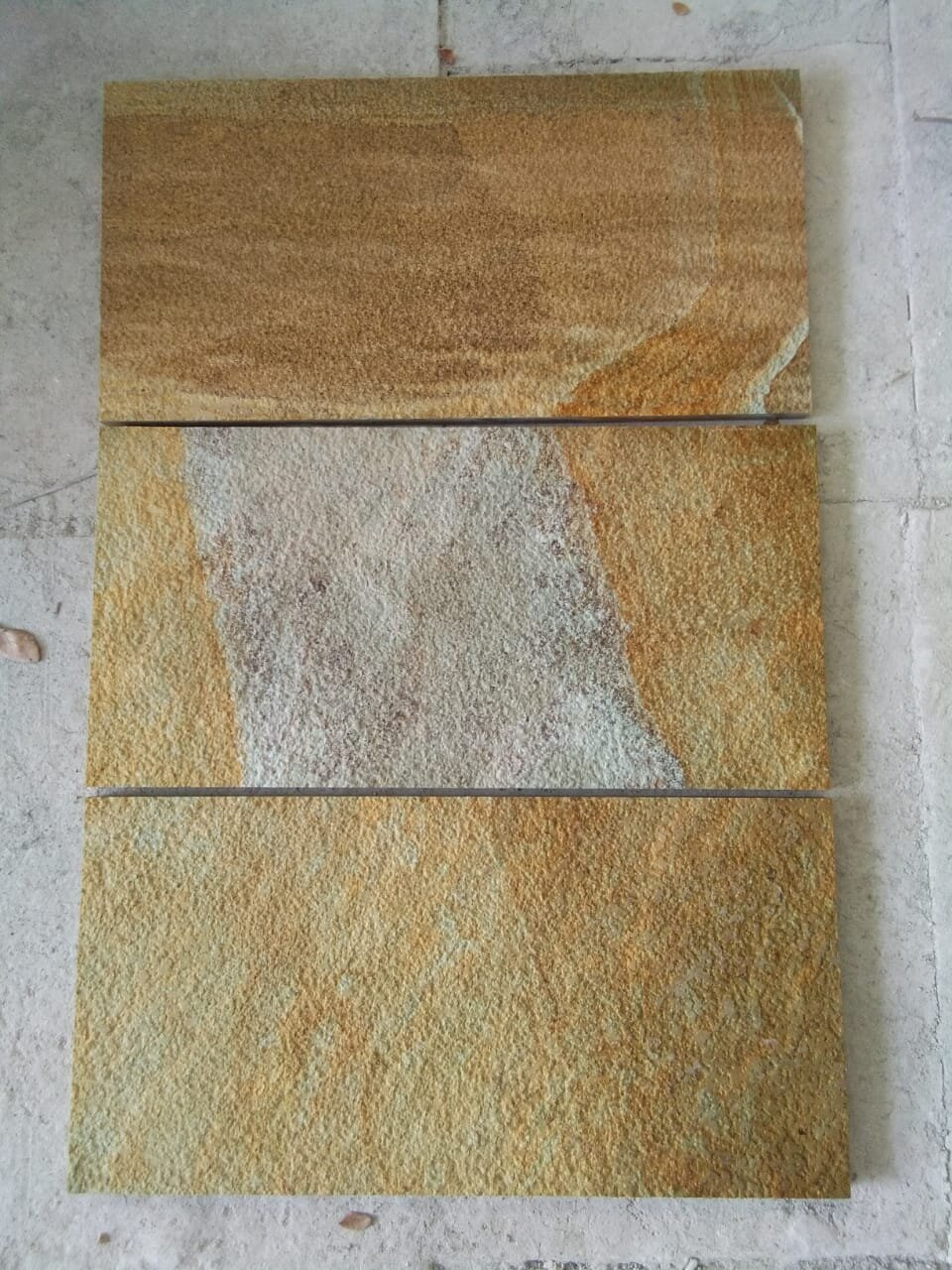 Indonesia Yellow Palimanan Sandstone Tiles