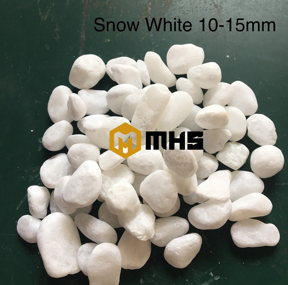 White pebble stone  Vietnam pebbles