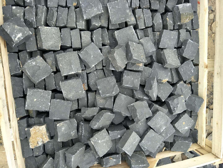 Black basalt tile