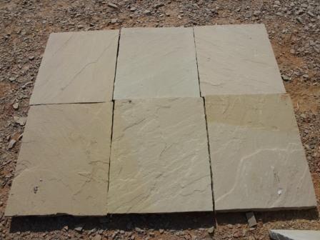 Raj green sandstone tile