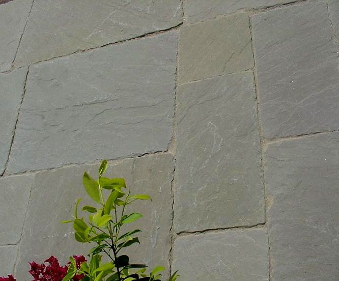 Raj Green Tumbled sandstone