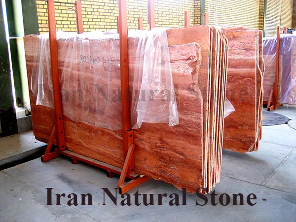 Red Traverin Slab
