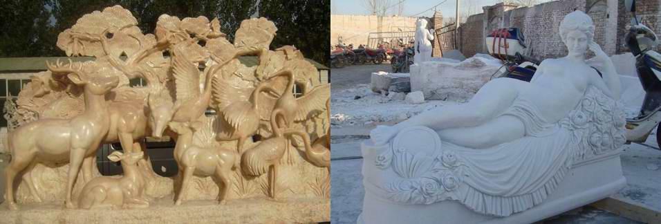 marble sculpture, western sculpture