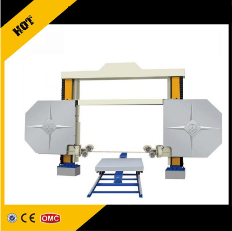 Diamond wire saw machine for marble