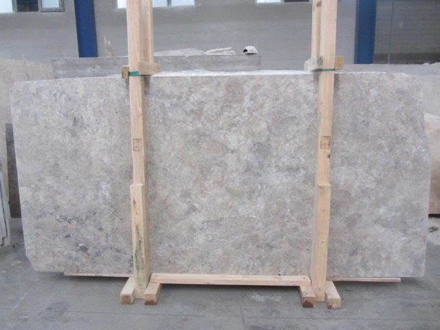 Silver Travertine Cross Cut