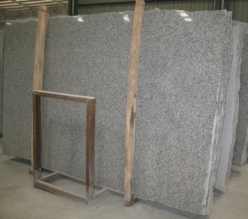 G623 Silvery Grey Granite Slabs