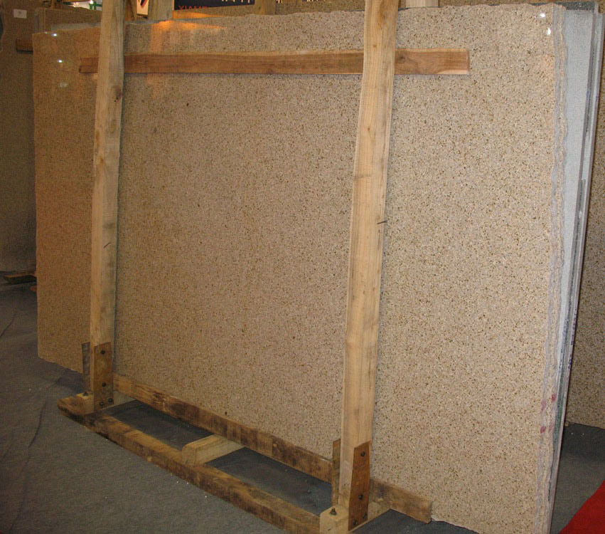 G682 Golden Yellow Granite Slabs