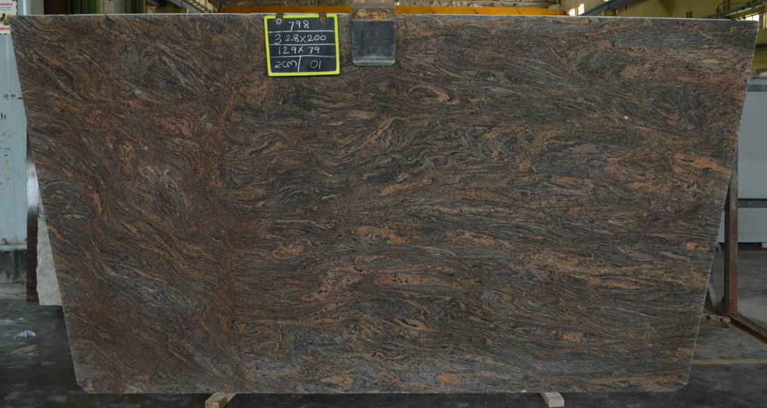 Paradiso Bash Granite Slabs