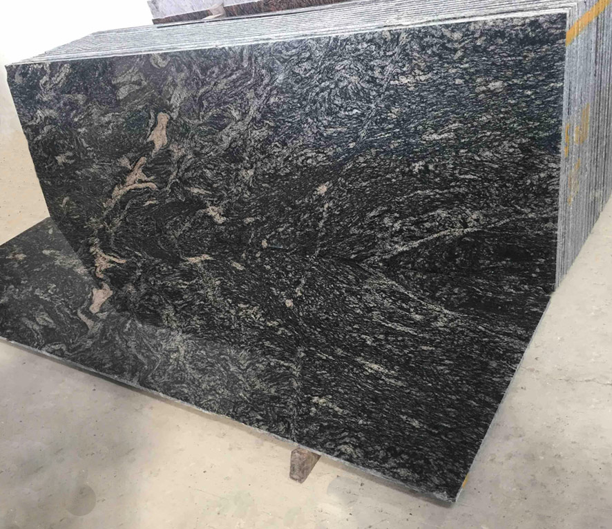 Black Granite Slab Photo Albums
