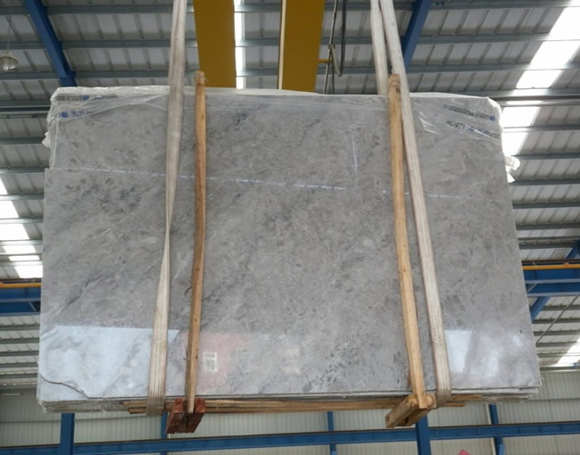 Abba Grey Marble Slabs