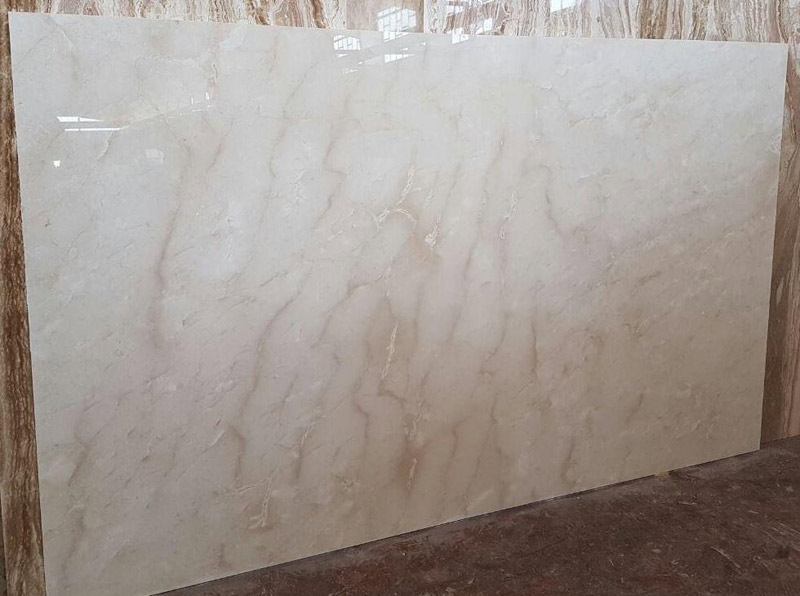 Cappuccino Cream Marble Slabs