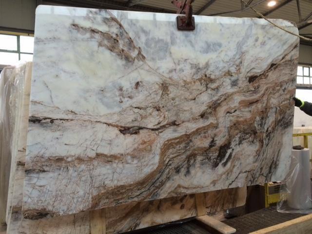 Tara White Marble Slabs