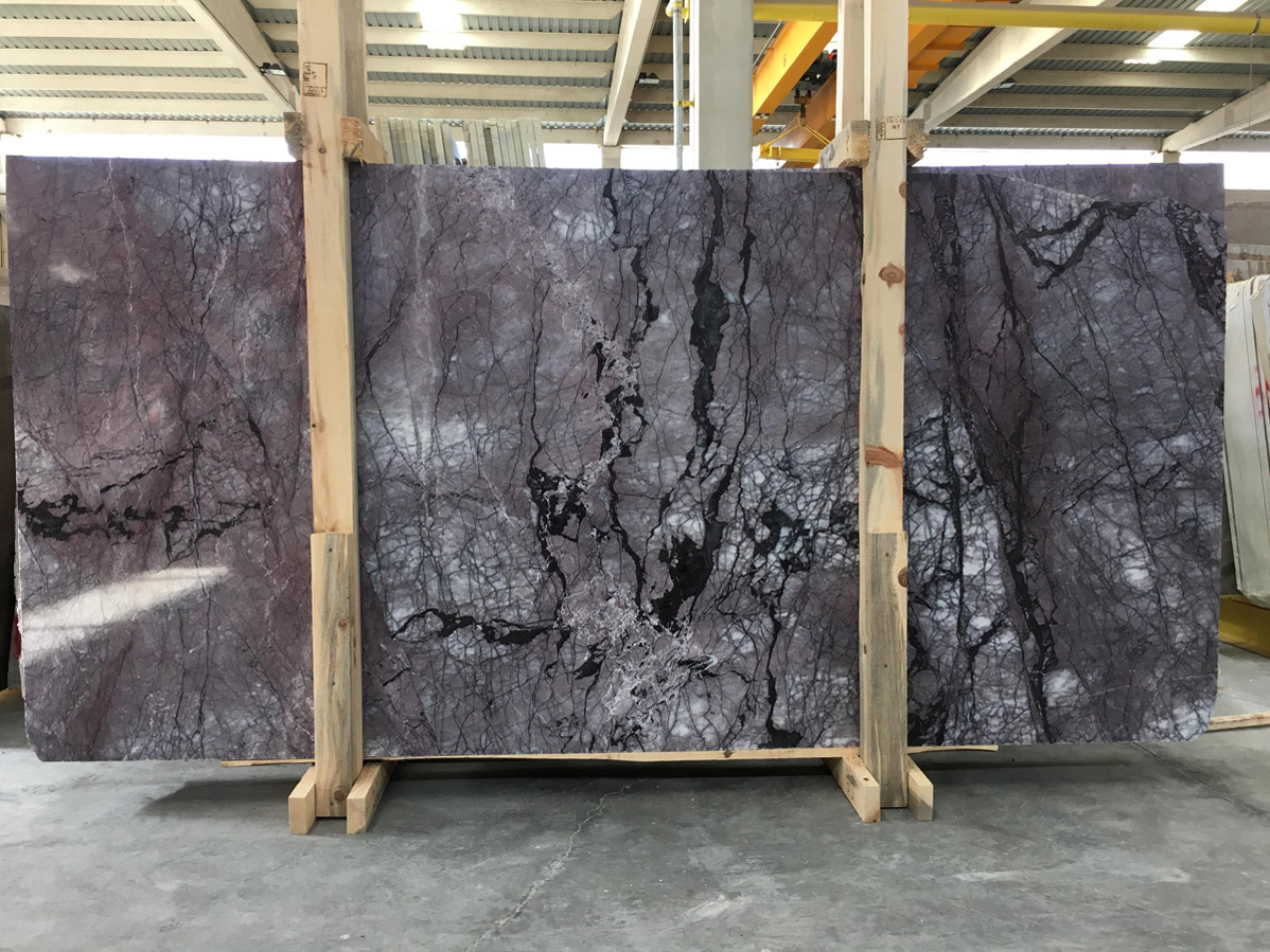 Purple Rain Marble Slabs