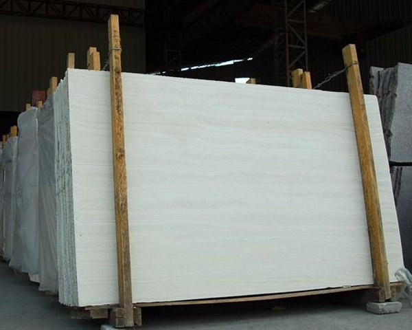 Ivory White Travertine Slabs