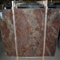 Crema Bordeaux Granite Slabs