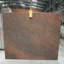 Red Multicolor Granite Slabs