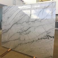 Opus White Marble Slabs