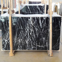 Nero Margiua Marble Slabs