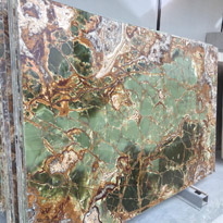 Magical Green Onyx Slabs