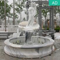Carved Stone Fountain Garden Sculpture Fountain