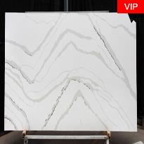 Calacutta Luna quartz stone slabs