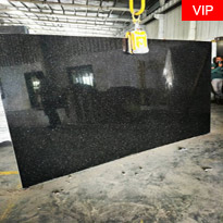 Black Galaxy Granite Indian Hot Selling Black Granite Slabs
