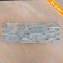 Cheap Yellow Slate Waterfall Wall Cladding Stone