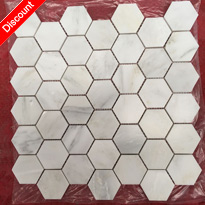 Hexagon Marble Mosaic Factory Customize