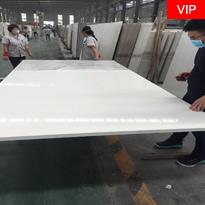 Pure White Artificial Quartz Stone Slabs