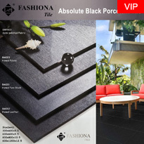 Absolute Black Porcelain Tile
