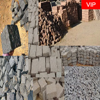 granite cobble stone cube jumbo cobble stone regulation blocks