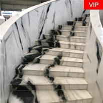 Panda White Stairs Risers Tiles