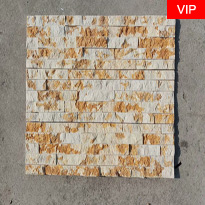 Golden Color Marble Slate Stacked Wall Stone