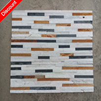 Multicolor Quartzite Wall Cladding Stone for Sale