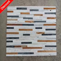 Multicolor Quartzite Wall Cladding Stone for Sale