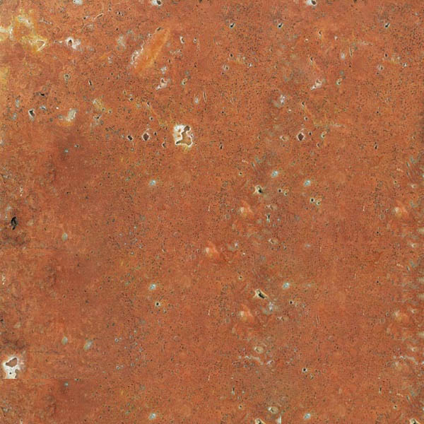 Red Gerberia Travertine