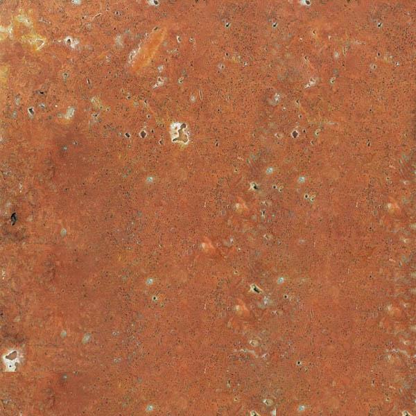 Red Gerberia Travertine