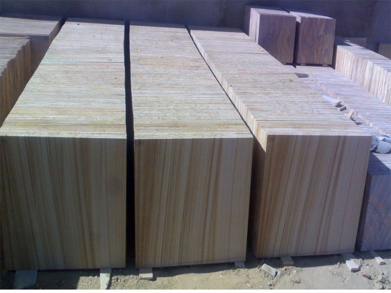 Teak wood honed stocks