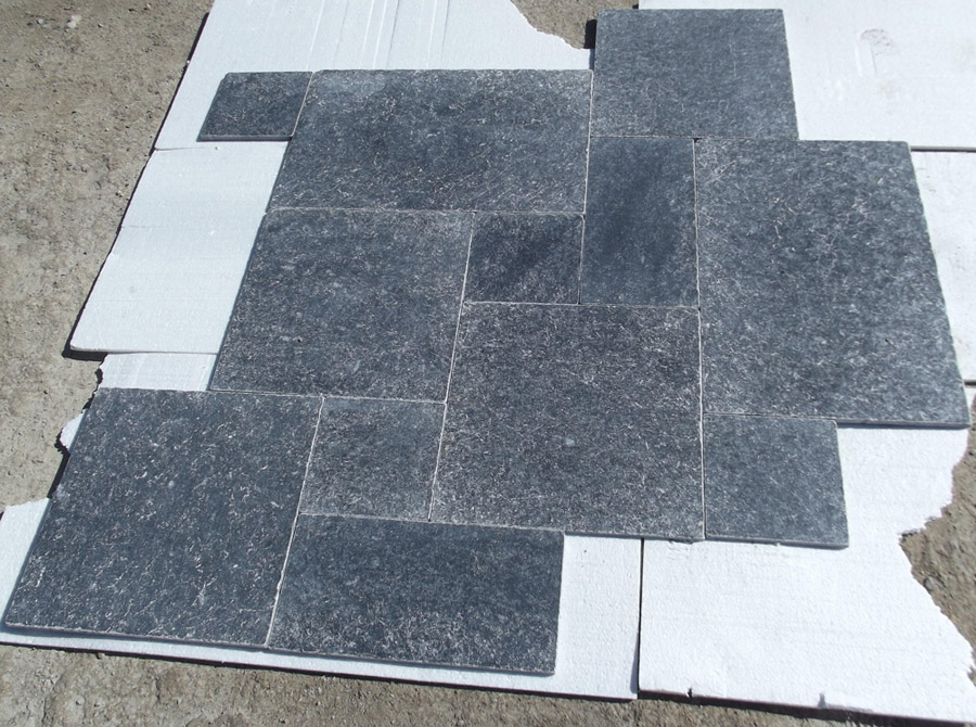 Black Storm Marble Tiles