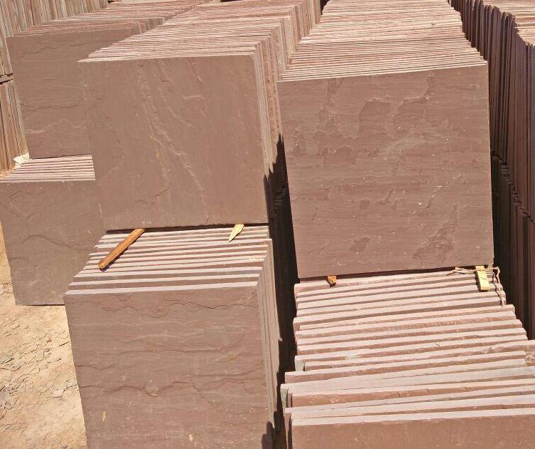 Dholpur Beige Sandstone Tiles