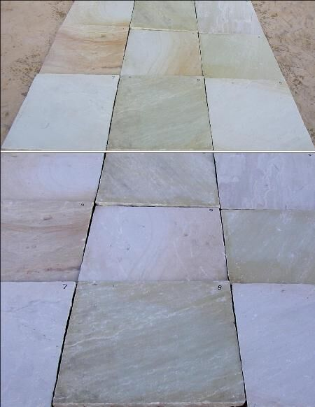 TInt Mint Paving sand stone tile
