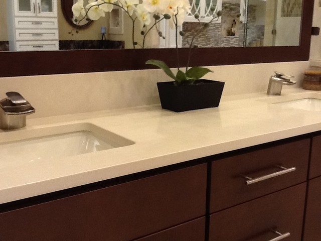 white quartz vanity top bathroom