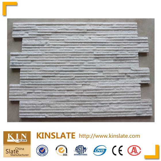 Hot white quartzite water running wall tile