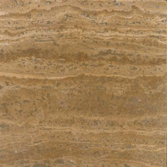 Choclate travertine vein cut