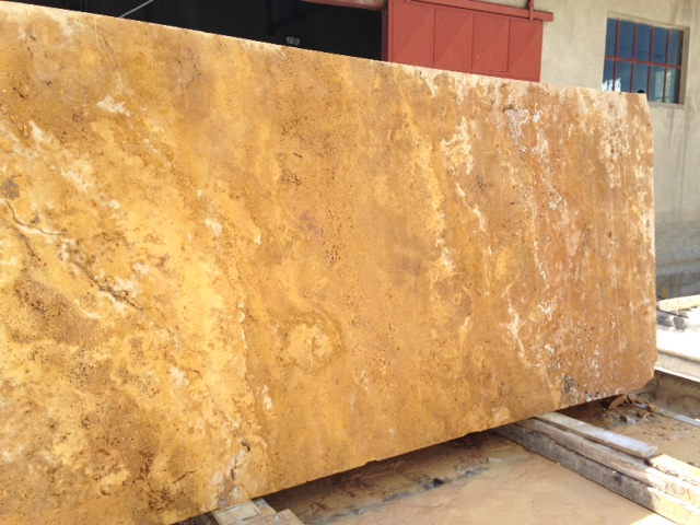 YELLOW GOLD TRAVERTINE